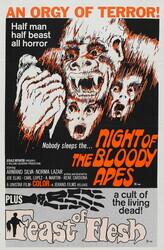 Ночь кровавых обезьян    / La horripilante bestia humana