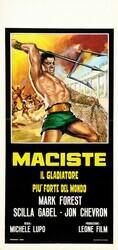 Мацист, самый сильный гладиатор в мире / Maciste, il gladiatore piu forte del mondo