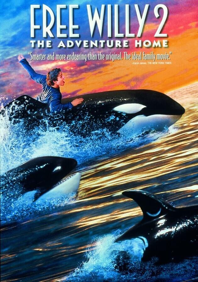 Освободите Вилли 2: Новое приключение / Free Willy 2: The Adventure Home