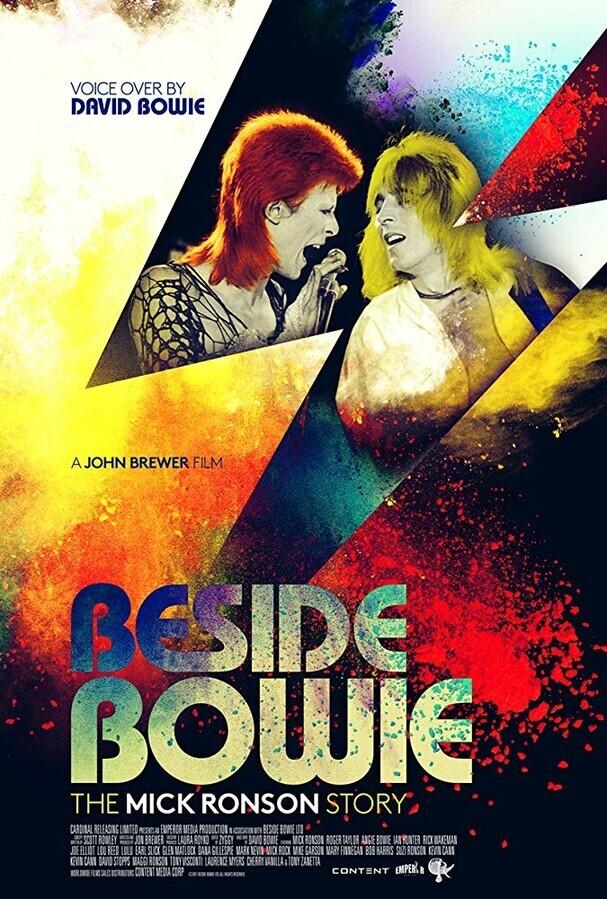 Рядом с Боуи: История Мика Ронсона / Beside Bowie: The Mick Ronson Story