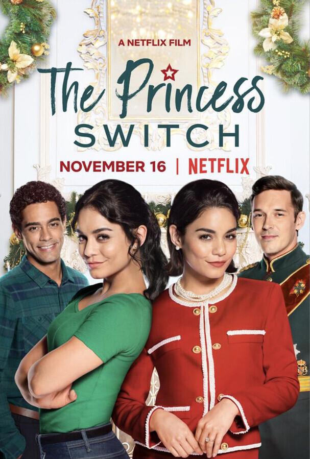 Замена принцессы / The Princess Switch