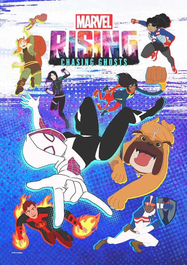 Восход Марвел: В погоне за призраками / Marvel Rising: Chasing Ghosts