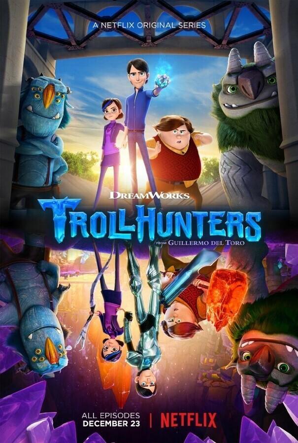 Охотники на троллей / Trollhunters